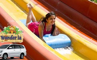 Peekdays Private Tour: Wonderla Hyderabad 1 Day Tour by 'AC Car / Bus / Vehicle'