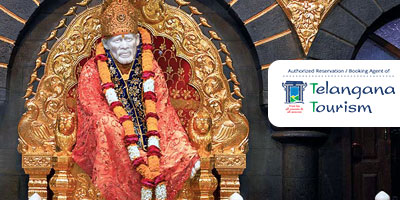 Telangana Tourism Daily Shirdi Tour by A/c Volvo Coach from Hyderabad