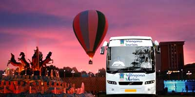 "Ramoji ""General"" 1 Day Tour Package by BUS from ""Telangana Tourism"""
