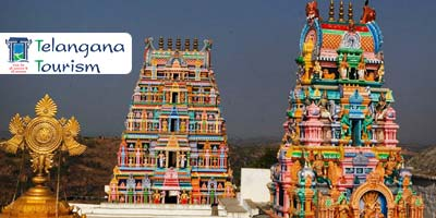 "Book Online Telangana Tourism - ""Yadagirigutta & Pochampally"" Weekend Tour Package (Temple-cum-Rural Tourism Circuit)"